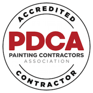 commercial painting phoenix - pdc accreditation seal gilbertspainting.com