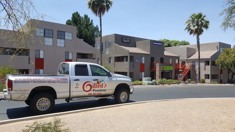 Commercial Building Exterior Painting - Gilbert's Commercial Painting Phoenix Arizona